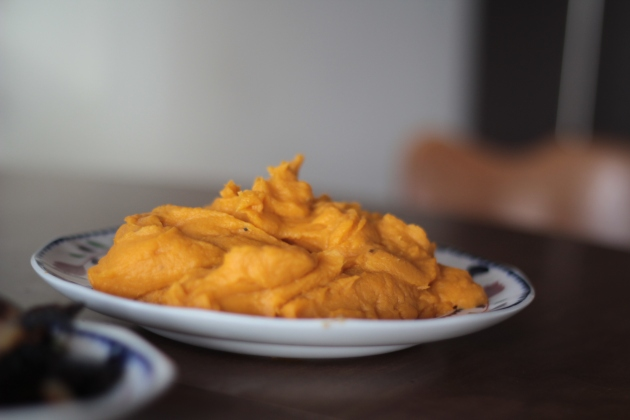 Pureed Sweet Potatoes