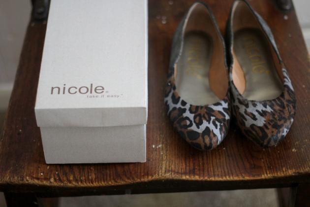 Nicole Leopard Flats