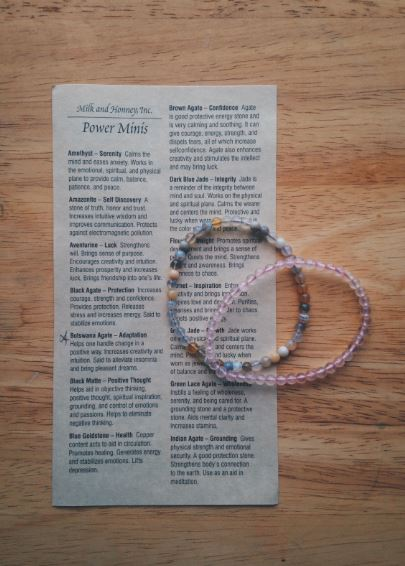 Milk & Honey Power Mini Bracelets