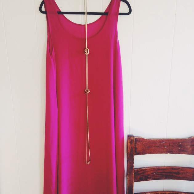Pink American Apparel Dress